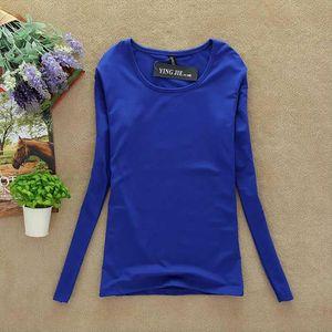 New T Shirt Women Long Sleeve Winter Tops Fashion 2020 T shirts For Women Thermal Underwear Female shirt Camisas Femininas