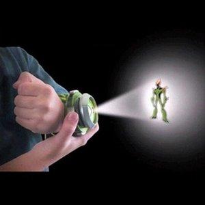 Regarder les enfants Projecteur Omnitrix Alien Viewer W / 3 disques 30 Images LJ200930