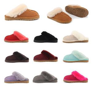 2020 High quality australia kids warm cotton slippers menugg women winter short boots womens snow fur boots slippers size 34-43 O5MK#