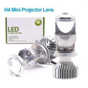 G6 1,5 pouce H4 LED Mini Projecteur Lens de projecteur pour voiture H4 Motorcycle HS1 Hauteur High Faible LED Kit de conversion de la lampe 12v24v 5500K1