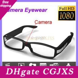 Full HD 1080p Eyewear Camera Mini DV câmera Óculos Mini DV