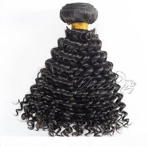 VMAE CAMBODIAN Vietnamita Color natural Kinky Curly Hair Hair Extensions EMA Productos 100% sin procesar Virgin Human Hair Weaves 1 paquete