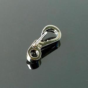 1/10 PCS Mini SF Spring Backpack Clasps Escalar Carabiners Equipamentos Sobrevivência EDC Paracord Snap Hook Keychainl Buc Qylhzv