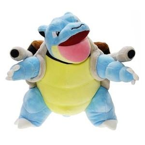 30cm Blastoise 플러시 장난감 만화 아기 인형 Tortoise 동물 Pluche 귀여운 일본 애니메이션 소프트 어린이를위한 생일 선물 Y200703