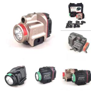 BDCMZ LIGHT COMPACT PISTOL PISTOLUD LED CON DOT ROJO LÁSER TACTICA T6 MODELO C8 CREE XM L Linterna TLR-8 Plomo Láser Tactical FLAS Mini