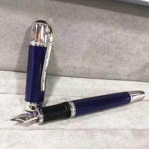 Alta calidad Negro / Azul / Vino Red Fountain Pen Oficina Papelería Marca 4810 Escribir Plumas de tinta para Regalo de Negocio