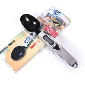 Светодиодный цифровой мерная ложка Сухое молоко Медицина Масштаб Single Spoon Scale бытовые Precision Coffee Bean Измерение