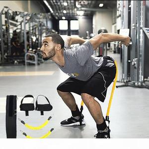 qualityBounce Resistance Band Sport Fitness velocità e l'agilità di formazione la forza delle gambe Stretching Strap Set Home Gym Attrezzi