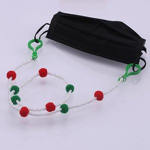 Beaded Face Mask Lanyards Face Mask Holder Strap Fashion Jewelry Mask Neck Strap for Women Chain Neck Strap Sea Shipping IIA773