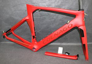 2020 hot colnago concept road bike carbon frame full carbon fiber road bike frame 48 50 52 54 56cm T1000 carbon frameset C06
