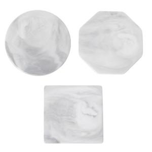 Мраморные зерновые покрытия керамической чашки коврики настольные нескользящие украшения дома