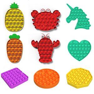 Estados Unidos Decompression Toys Sensory Push Bubble Sensory Toy Autismo Especial Necessidades Ansiedade Stress Reliever para estudantes Trabalhadores de escritório
