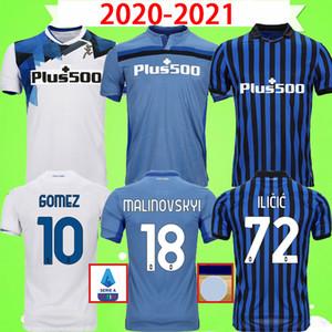 2020 2021 أتالانتا لكرة القدم بالقميص BC 20 21 L.MURIEL GOSENS DE غرفة ILICIC كوميز بازاليتش HATEBOER قمصان كرة القدم رجل زي BARROW ARANA