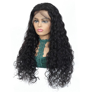NAFUN Malaysian 4x4 Lace Closure Wigs %100 Human Hair Water Wave 13x4 Lace Front Wigs For woman Bleached Knots Remy Hair Vendor