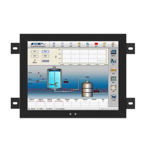 8.4 inch Industrial Portable Lcd Monitors Vesa Mounting VGA HDMI DVI TV USB AV Free shipping PC Display Not Touch Screen LCD