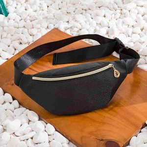 money holder belt waist bag Women men Casual Sports leather Breast Package chest beach fanny pack sac banane