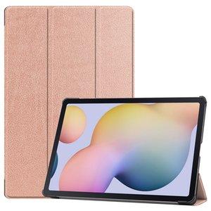 Smart Magnetic Tablet Case for Samsung Galaxy Tab S7 Plus T970 975 976 صدمات سيليكون الغطاء الخلفي