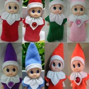 10pcs Große Qualitäts-Weihnachtsbaby-Elf Puppen Baby-Elves Puppen Spielzeug Mini Elf Weihnachtsdekoration Puppe Kinder Spielzeug für Kinder Geschenke