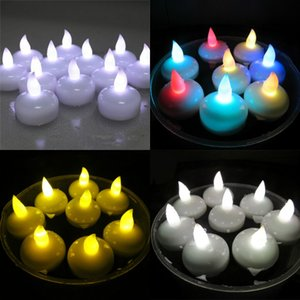 Led Swim Candle Light Electronics Water Induction Portable Bougie Wedding Celebration Bar Candles Creative New Arrives 1 5mw J1