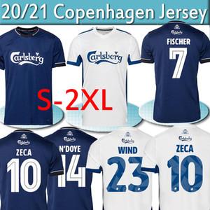 2020 2021 Superligaen FC DÄNEMARK Kopenhagen Fußball-Trikots Zeca Fischer Skov Daramy Männer Kits Football Shirts Uniformen S-2XL