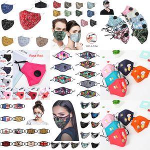 face VAZC mask Valve Fashion Anti Breathing Dust Face Mask Folding Without Valve Protective Dustproof PM2 CINK