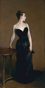 John Singer Sargent Portrait of Madame X Home Decor Handpainted &HD Print Oil painting On Canvas Wall Art Canvas Pictures 201024