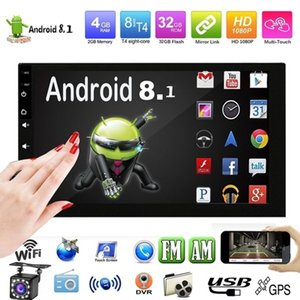 2 DIN Android Radio Multimedia Video Player Universal Auto Stéréo GPS Carte pour Volkswagen Nissan Hyundai Kia Toyota CR-V