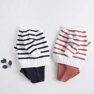 Baby Girls Boys Clothing Set Knit Sweaters + Shorts Knitted Wool Clothes Suit Hollow Out Newborn Toddler Long Sleeve Clothes LJ201023