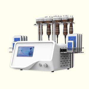 6 в 1 40k кавитация тела для похудения инструмента кавитация Оборудование Fat Loss CE Approved ультразвуковой кавитации РФ Macine