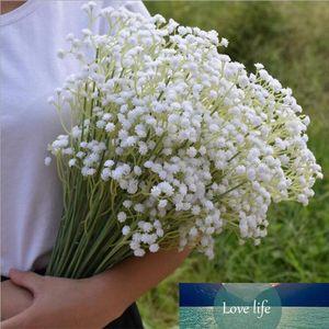 60cm Gypsophila Babys Breath Artificial Fake Silk Flowers Plant Home Wedding Decoration 3Color White Beige Purple