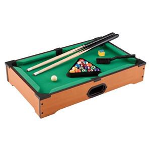 13.8 İnç Mini Masa Pool Bilardo Oyunu Seti Oyunu Topları, Sticks, Tebeşir, Fırça ve Tripod dahildir