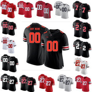 NCAA Ohio State Buckeyes Jerseys Justin Fields Jersey Chase Young JK Dobbins Archie Griffin 7 Haskins Jr. Football Jerseys Custom Stitched