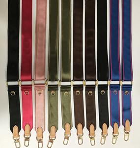 Sale 8 couleurs Sangles d'épaule pour 3 pièces Sacs Sacs Femmes Bandbody Sac Toile Sac Pièces Sangle