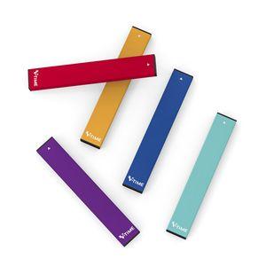 V-time Five color wholesale E-cigarette leak-free Vape Pen starter Kit mini size disposable evaporator can be automatically switched