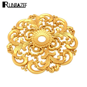 RUNBAZEF Decorative Materials Floral Furniture Background Wall Decked With European Lamp Pool Ceiling Decoration Accessories 1007