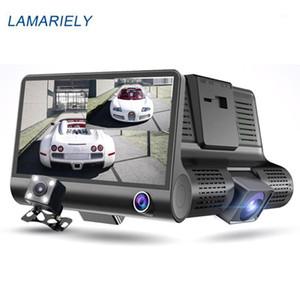سيارة dvr dvr dvr dvr camera 1080P 170 درجة dashcam الرؤية الخلفية للماء ثلاثة عدسة مسجل الفيديو تسجيل السيارات 1