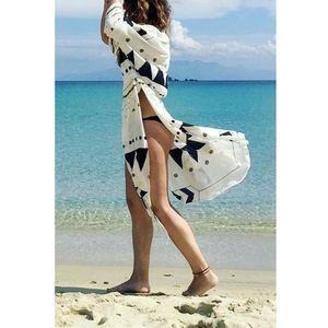 Fashion Women Boho Floral Kimono Cardigan Bikini Cover Up Elegant Beach Dress Loose Shawl tunic kaftan Playa Beachwear