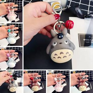 Fashion Keychains Cute Kawaii Kitten Cat Key Chain Ring Anime Totoro Keychain Creative Trinket Charm Women Girl Kids Keyring