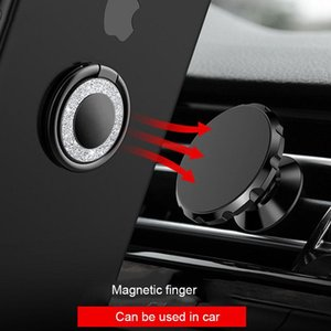 Magnetic Holder Stand For Iphone Samsung Xiaomi Mi8 360 Degree Universal Metal Finger Ring Holder For Mobile Phone sqcTjs bdejewelry