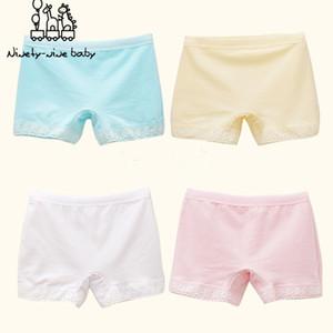 6Pcs Lot Baby Girls Cotton Lace Underwears Children Breathable Boxer Underpants Kids Cute Panties for Girls Kids Clothes Y0126