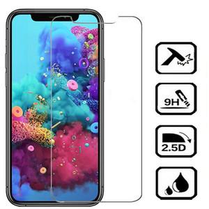 Ultra Clear 9Н 2.5D 0,3 мм протектор экрана Закаленное стекло для Iphone 5 6 7 8 Plus X 11 XR 12 Pro Max без коробки