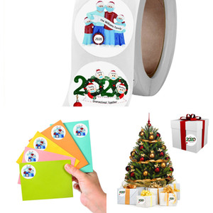 Sticker Pack Holiday Decorating 1 Roll 500 Posts Christmas Supplies for 2020 Festival Cake Boxes Gift Ci13
