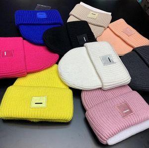 Designer brand Beanie Unisex Embroidery winter luxury hip hop Casual Knitted Cap outdoor women knitted hat men Baseball warm cap