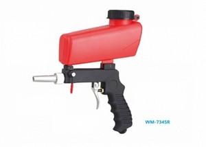 New 1pcs Pneumatic Hand Held Sandblasting gun Gravity Feed Hopper Spot Gun Rust Cleaning removal tools SBlb#