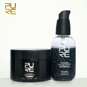 PURC Caviar Extract Chronologiste Luxury Hair Treatment Set Make Hair More Soft and Smooth 2020Best Hair Care ProductsRabin