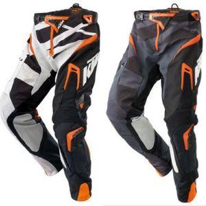 Frete grátis Top KTM Racetech BMX corrida motocicleta motocross calças off-road blindagem Moto Calças