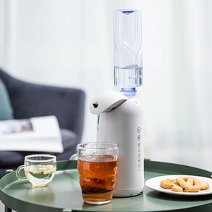 Portable Travelling Pocket Water Dispenser 3 Seconds Instant Heating Water Pump for Home Office Mini Drink Dispenser Child Lock