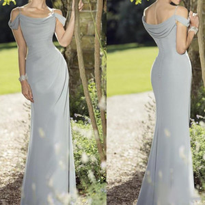 Simple True Bride Mother Off Bride Groom Dresses Spaghetti Floor Length Chiffon Mother Of The Bride Dress Sleeveless Evening Gowns