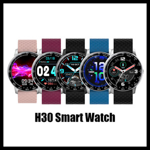 2020 New Arrivals H30 Smartwatch Health Exercise Tracker Female Physiological Reminder Pedometer Custom Dial Sedentary Remind DIY Watchface