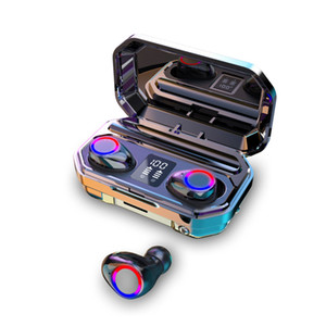 M17 M18 M12 M11 TWS Auriculares Auriculares Bluetooth 5.0 sin hilos del auricular del deporte auriculares estéreo de carga Caja 9D HIFI Bass táctil con el Mic